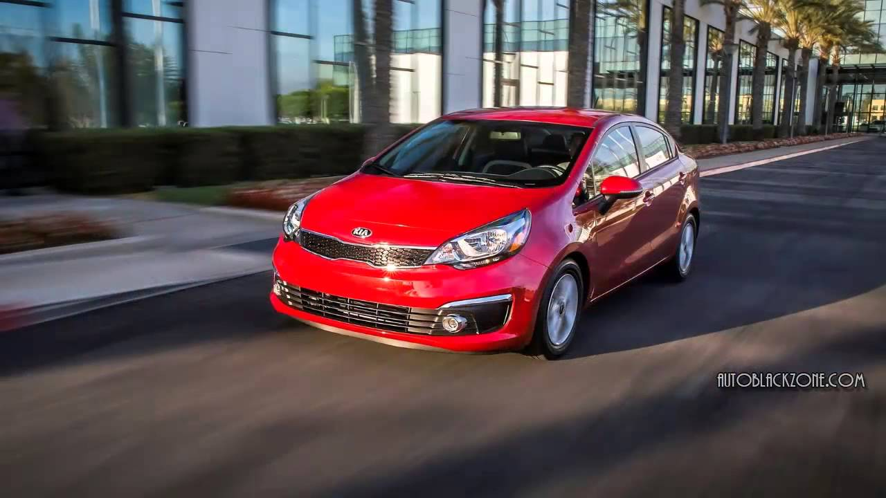 2016 Kia Rio Cool Backgrounds Wallpapers 1280x720