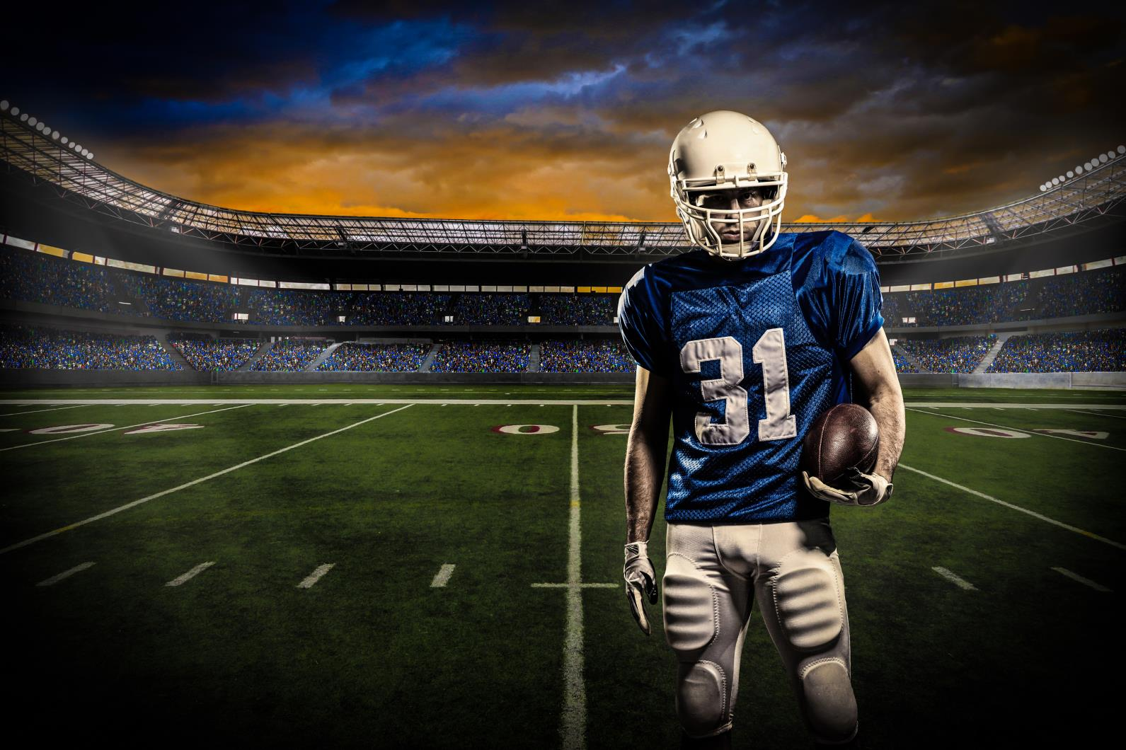 American football background hd