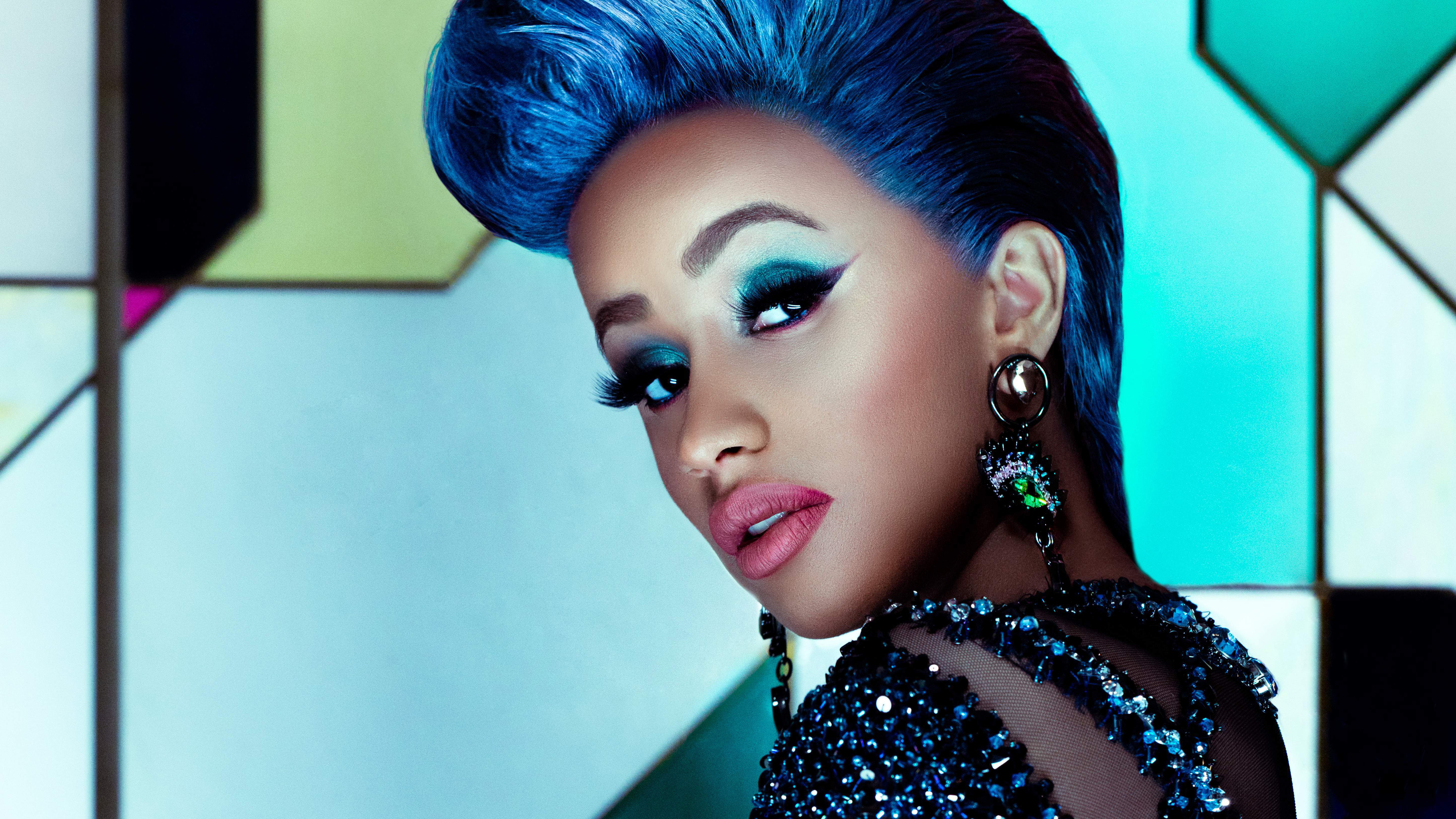 Cardi B 5k Wallpaper HD Wallpapers Mafia 3840x2160