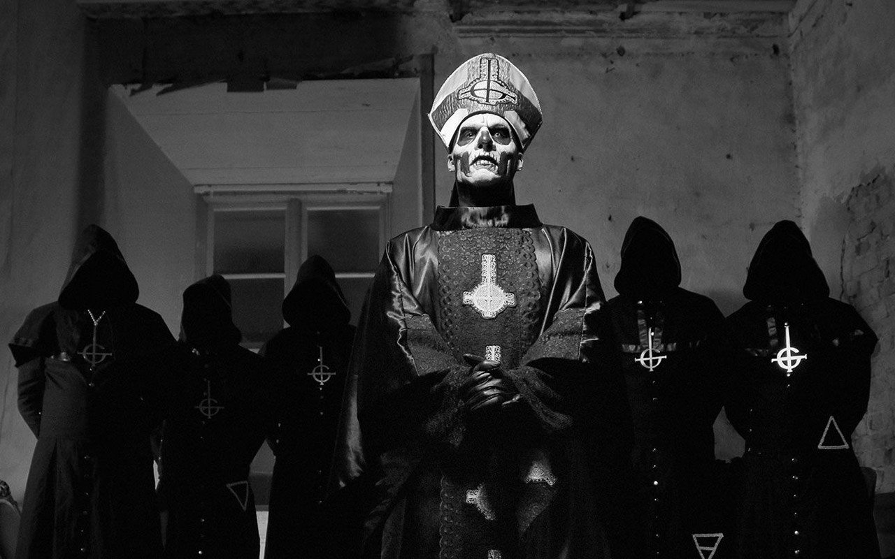 Ghost Band Wallpaper 1280x800