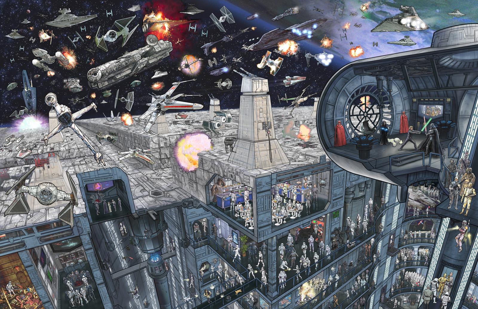 Star Wars The Epic Battles Poster   First Look StarWarscom 1600x1035