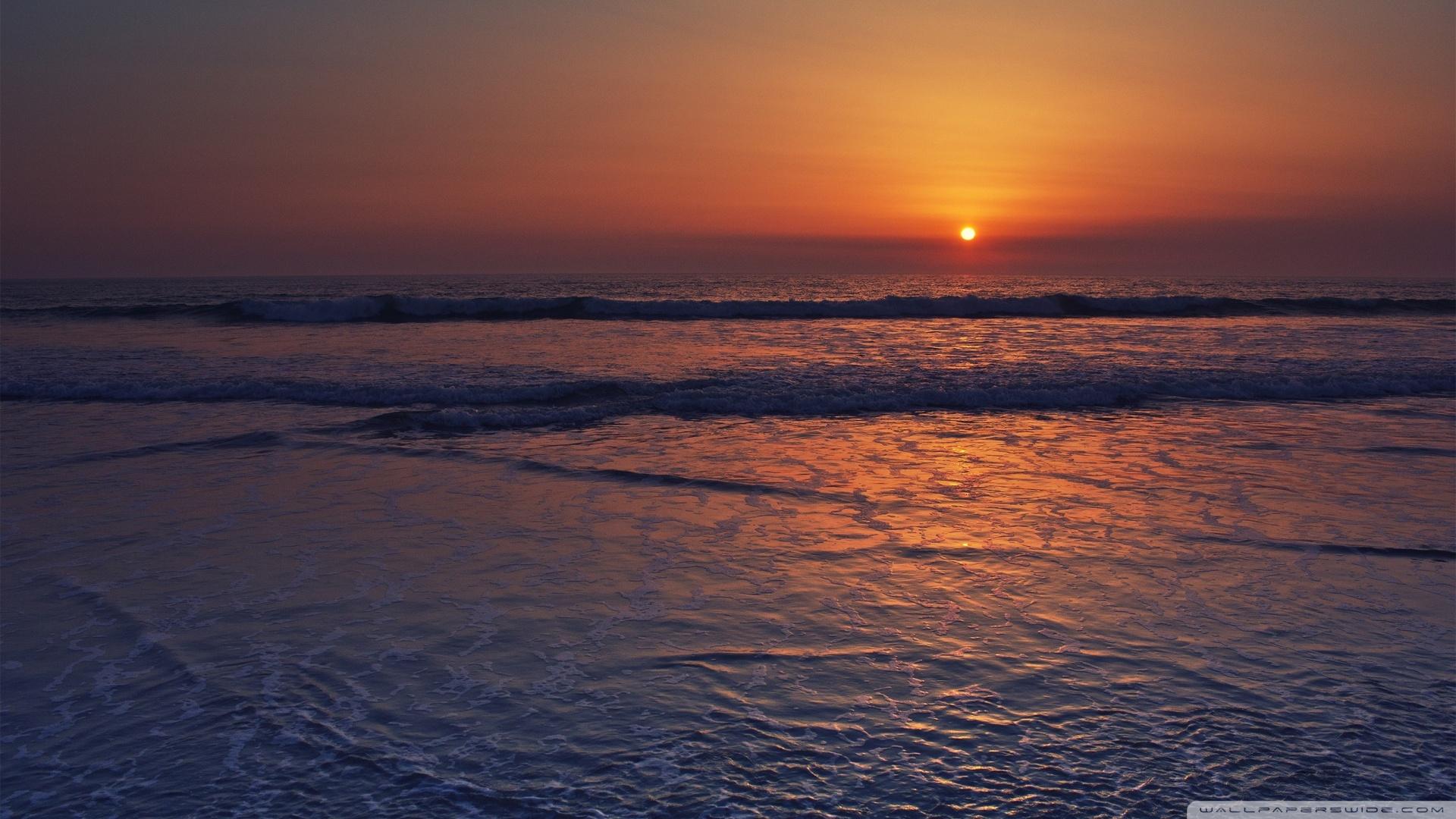 Calming Sunset Desktop Wallpapers 1920x1080