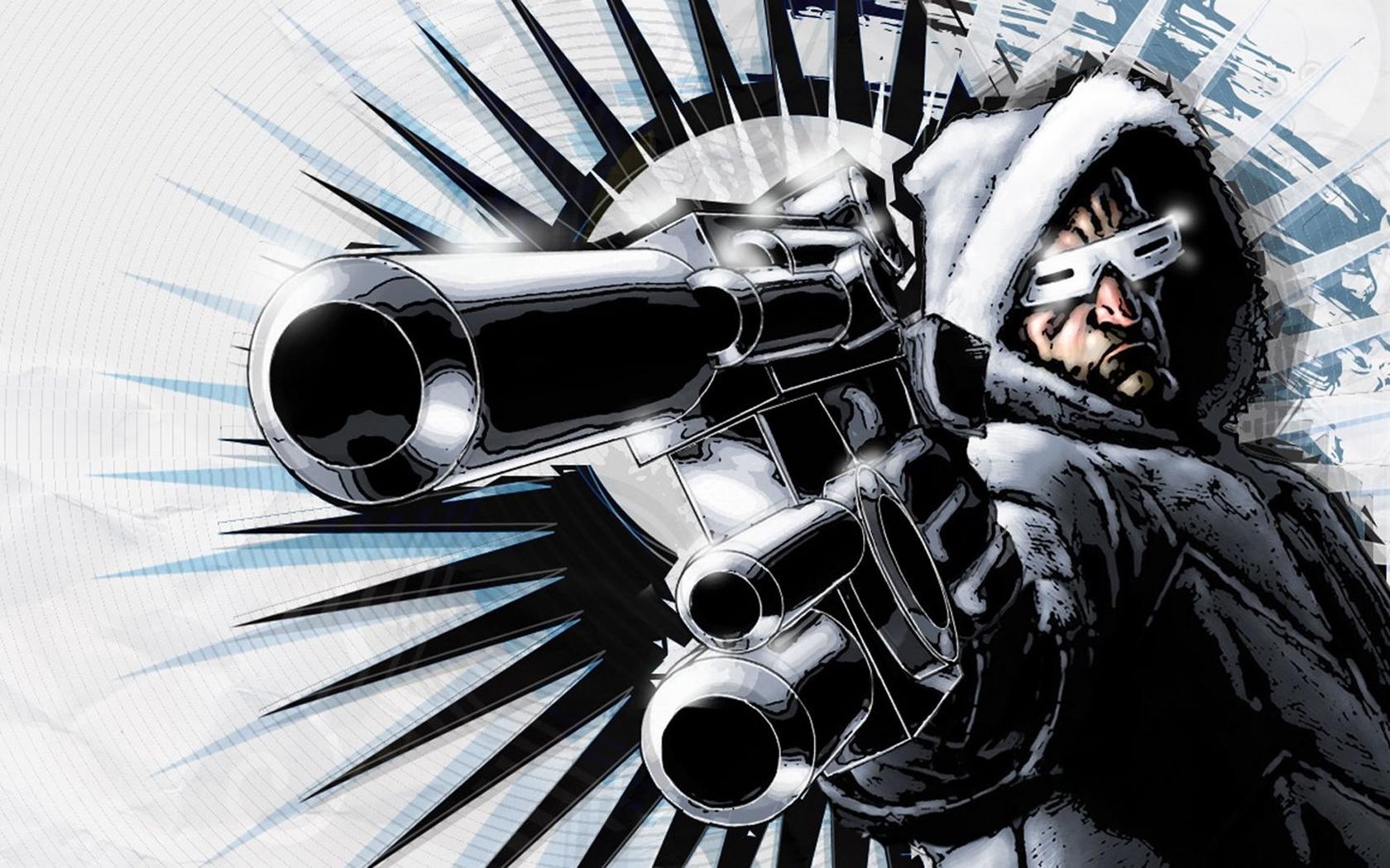 Captain Cold   DC Comics 1680x1050