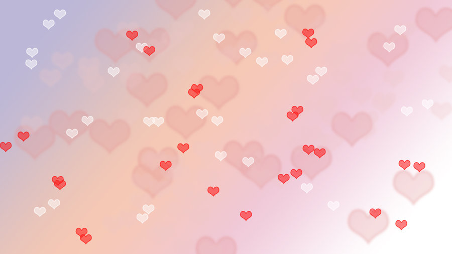 Valentines Day Heart Bokeh Wallpaper by ejkaull 900x506