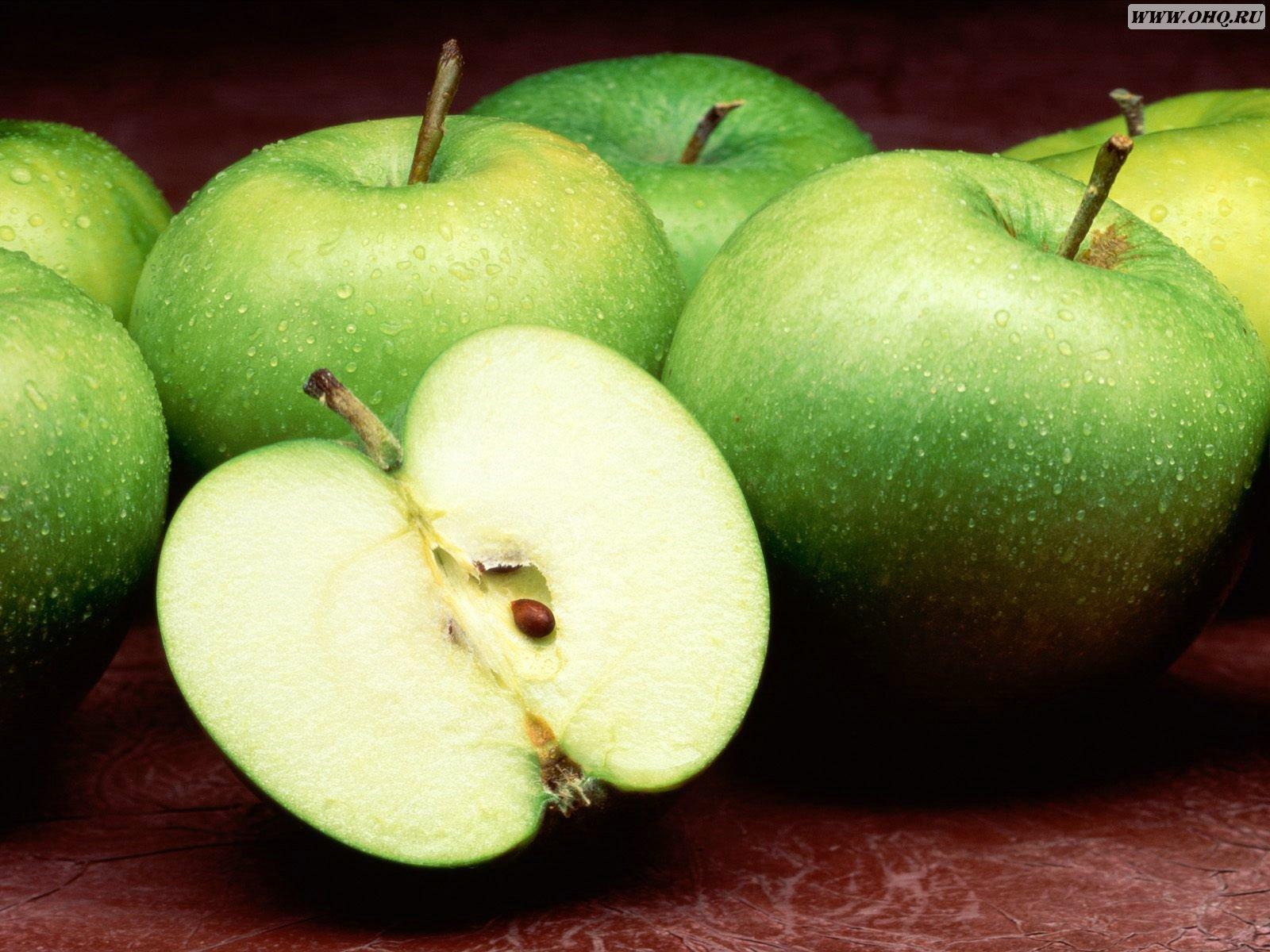 Wallpaper Of Fruits green Apples Wallpaper World 1600x1200