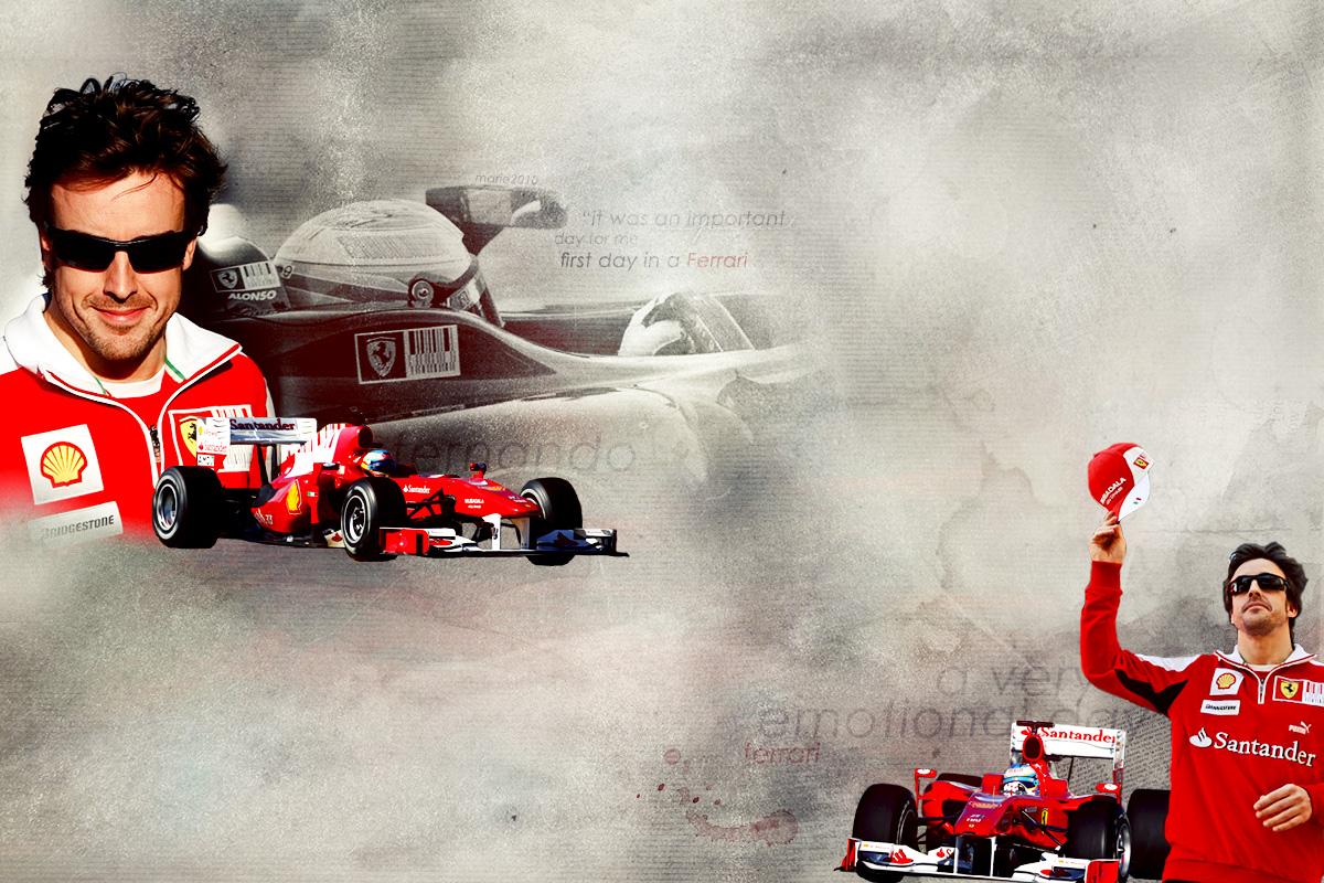Fernando Alonso Wallpaper 1200x800