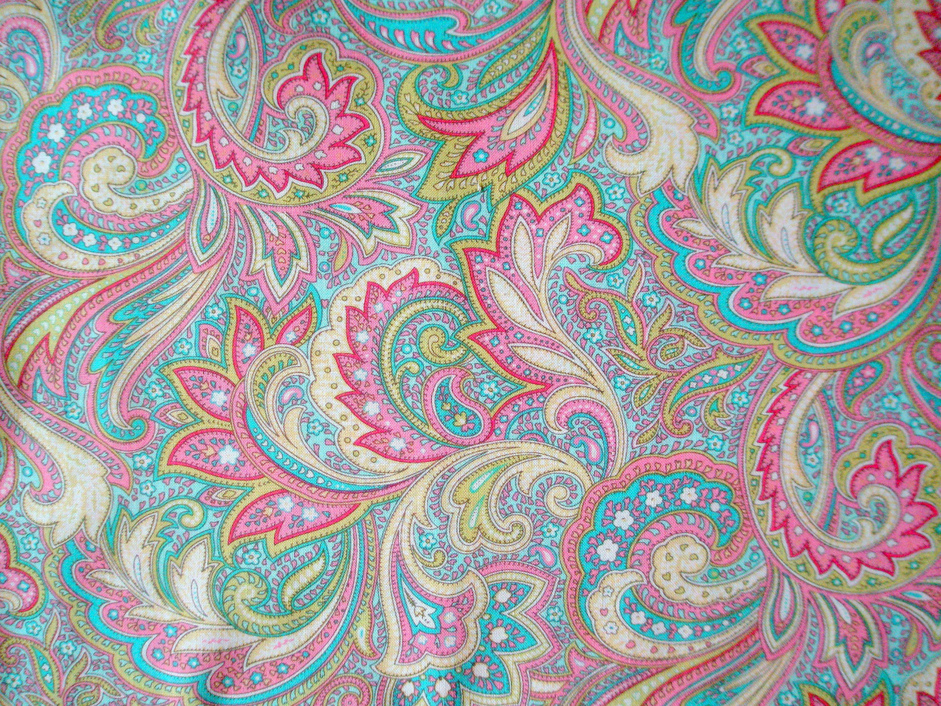 Paisley Wallpaper Background Wallpapersafari