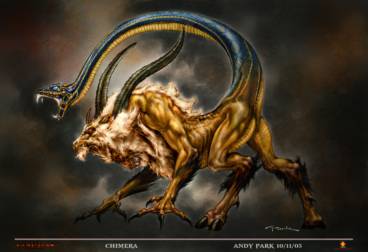 Greek Mythology chimera 1200x821