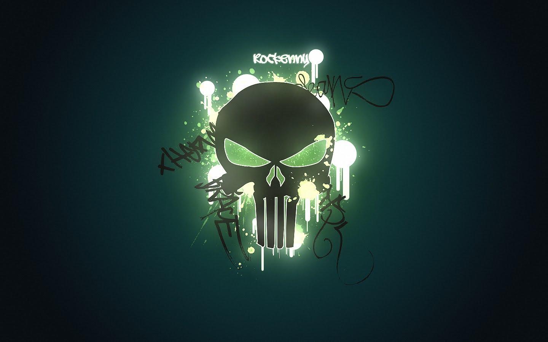 Punisher Logo Tattoo - Viewing Gallery