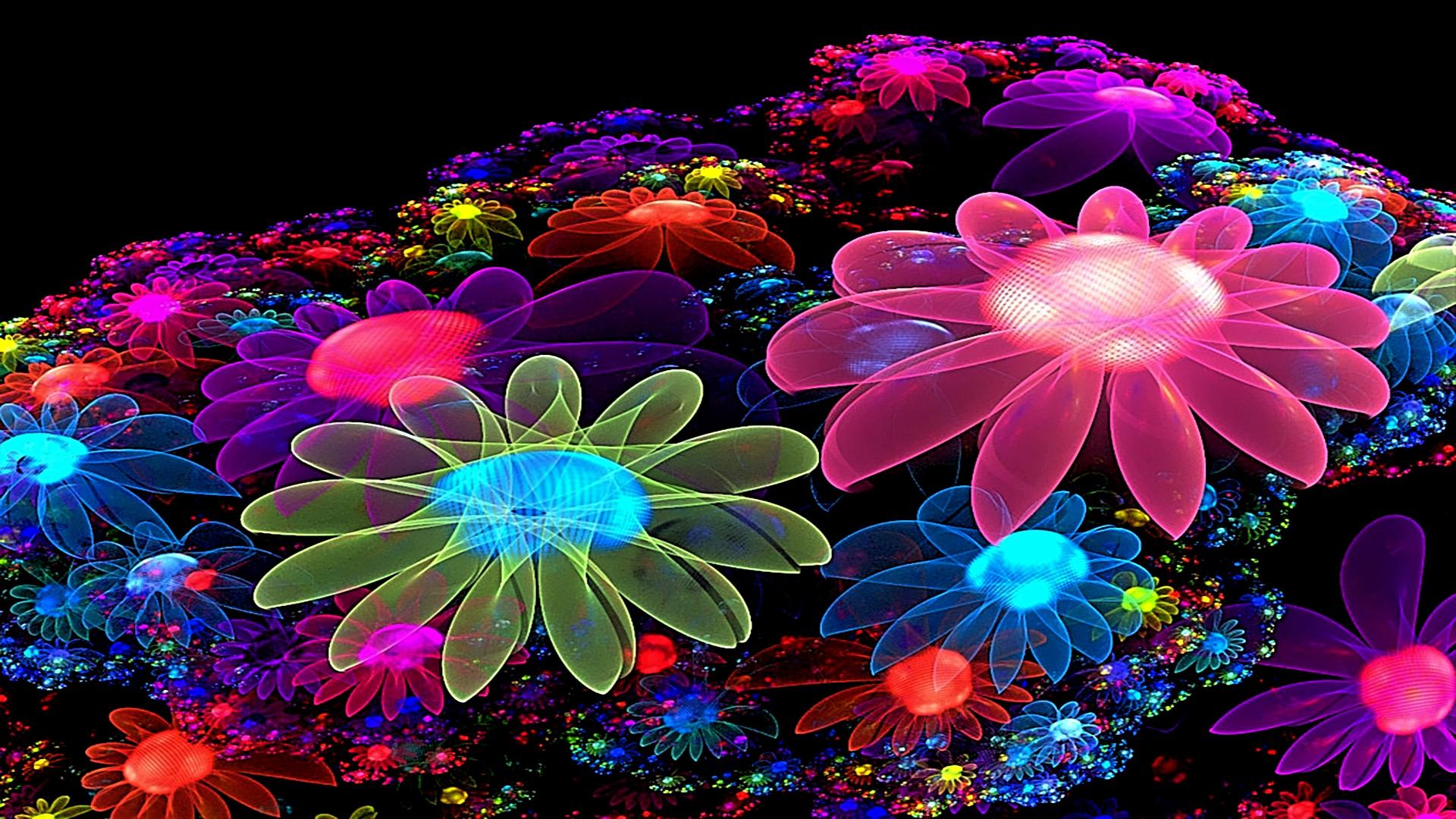 Colorful Flowers Desktop Wallpapers Images   Fullsize Wallpaper 1920x1080