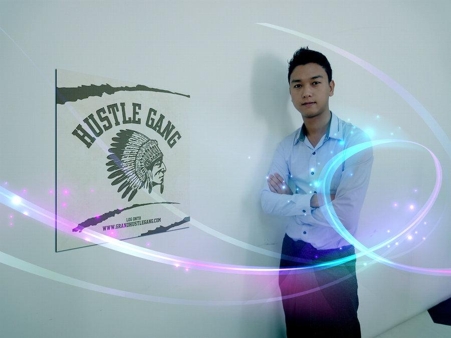 hustle gang wall poster by thuya14 900x675