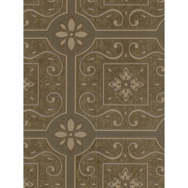 Bronze Brown Raised Faux Ceiling Tile Wallpaper 26458718 FD58718 650x650