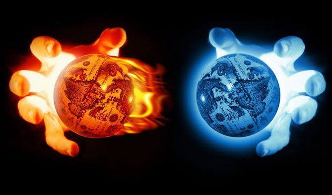Cool Fire And Ice Backgrounds Images &amp Pictures  Becuo