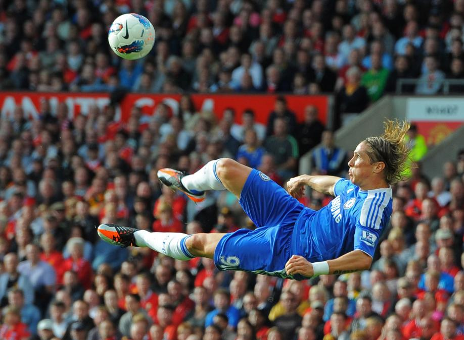 Fernando Torres volley for chelsea wallpaper Football Pictures and 918x674