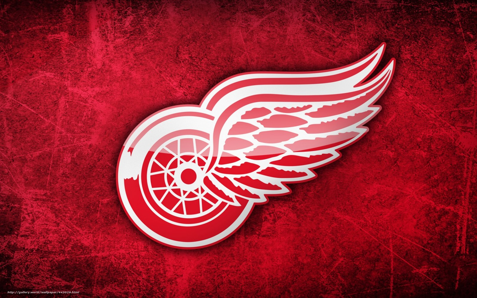 Download wallpaper NHL Detroit desktop wallpaper in the 1600x1000