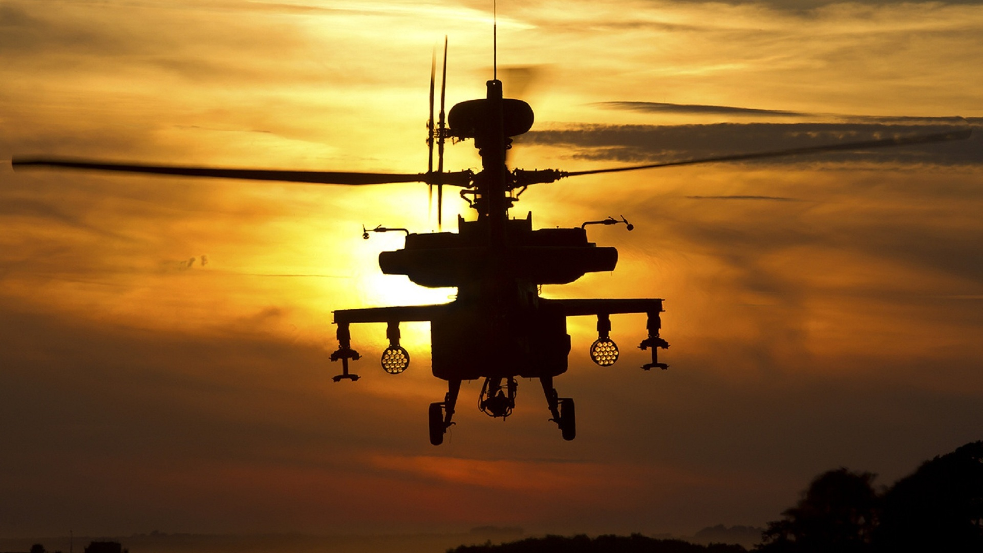 Longbow Apache AH1 helicopter apache HD Wallpapers Desktop 1920x1080