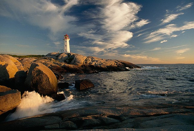 Peggys Cove Canada Lighthouse Wallpaper Wall Mural   Self Adhesive 640x434