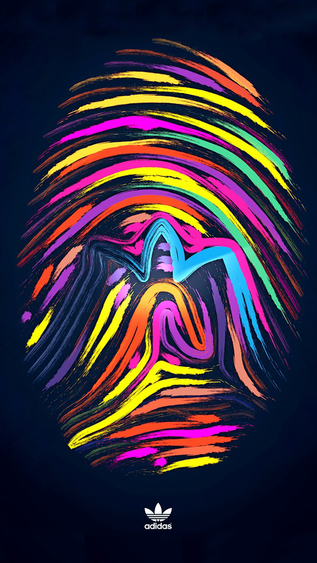 multicolor adidas iPhone 5s Wallpaper Download iPhone Wallpapers 640x1136