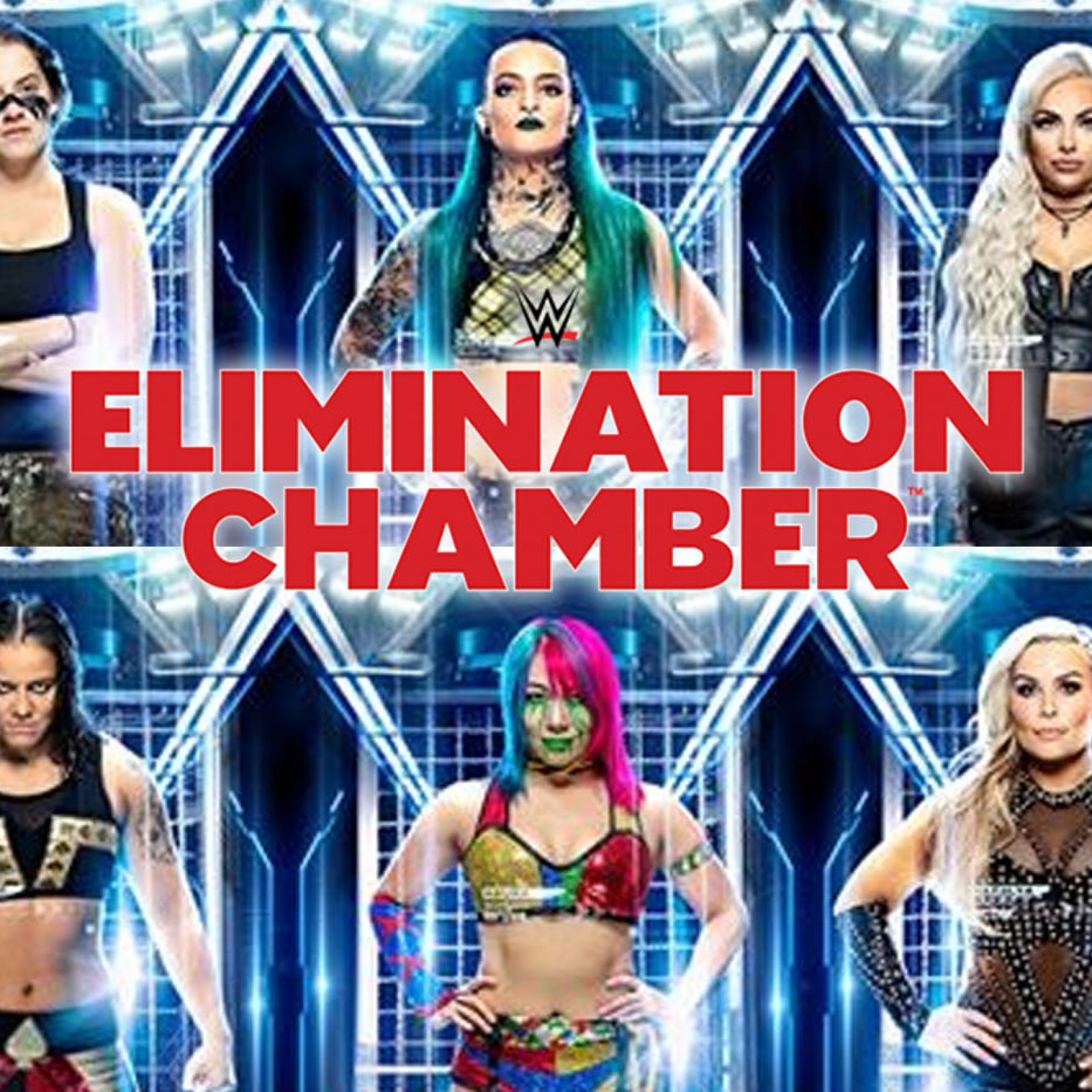 WWE Elimination Chamber 2020 Start Time and How to Watch Online 1600x1600