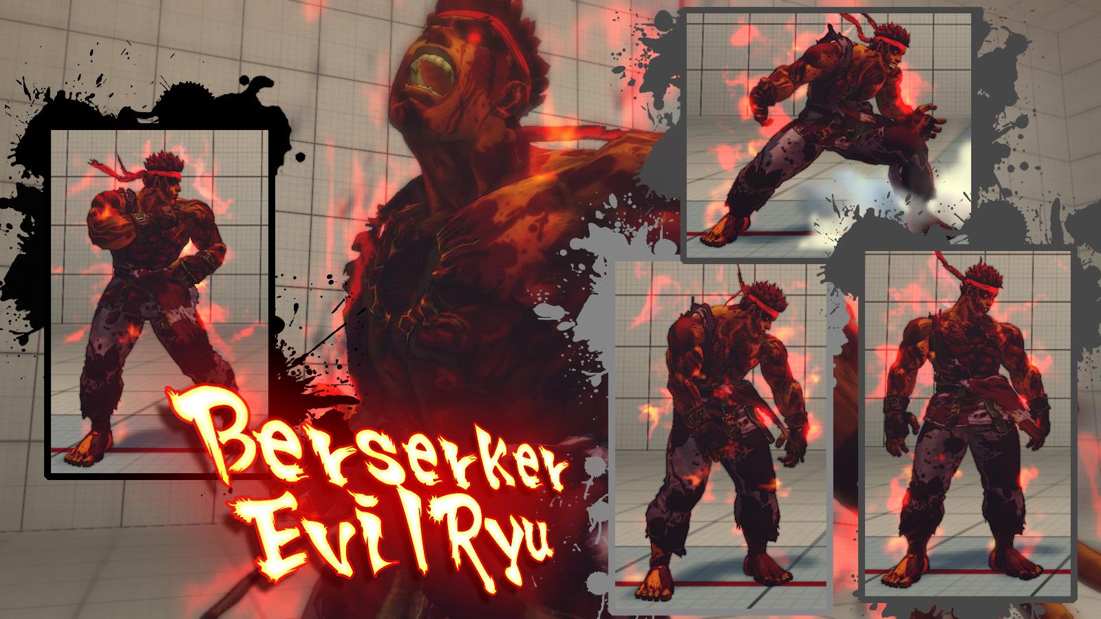 evil ryu wallpaper wallpapersafari