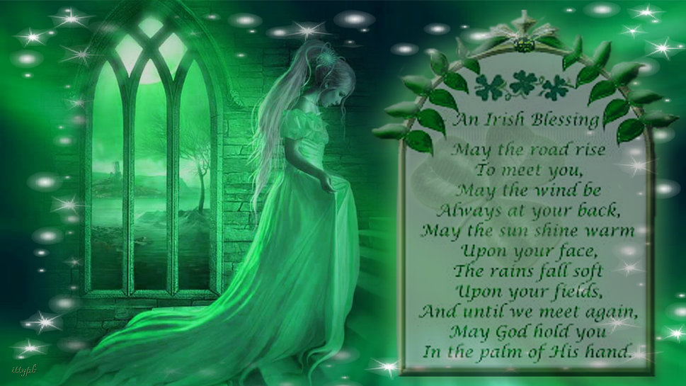 Irish Blessing Wallpaper  WallpaperSafari