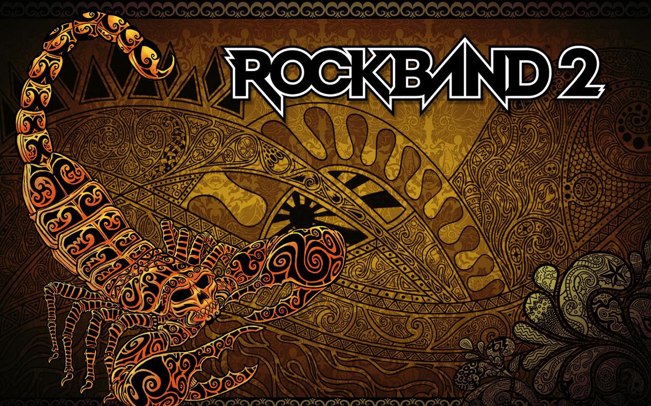 Rock Band 2 Wallpaper in 1280x800