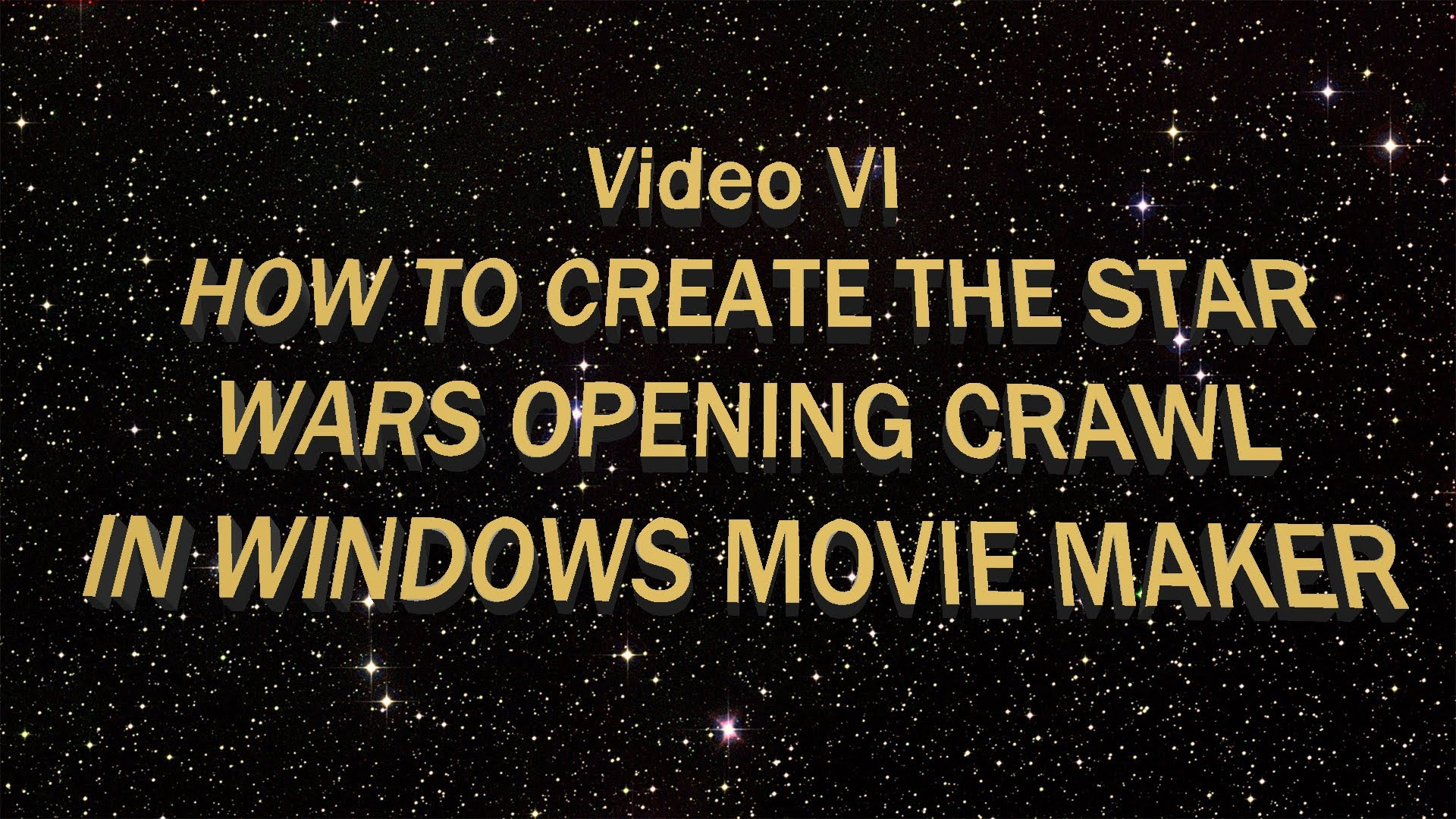 Free Download To Create The Star Wars Opening Crawl In Windows Movie Maker 1920x1080 For Your Desktop Mobile Tablet Explore 42 Text Wallpaper Maker Create Your Own Wallpaper Wallpaper
