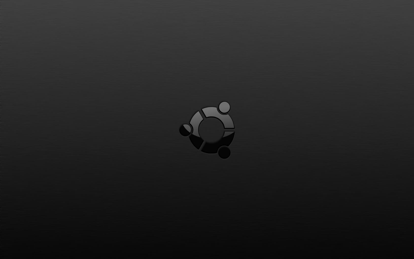 Dark Ubuntu Wallpapers 1680x1050
