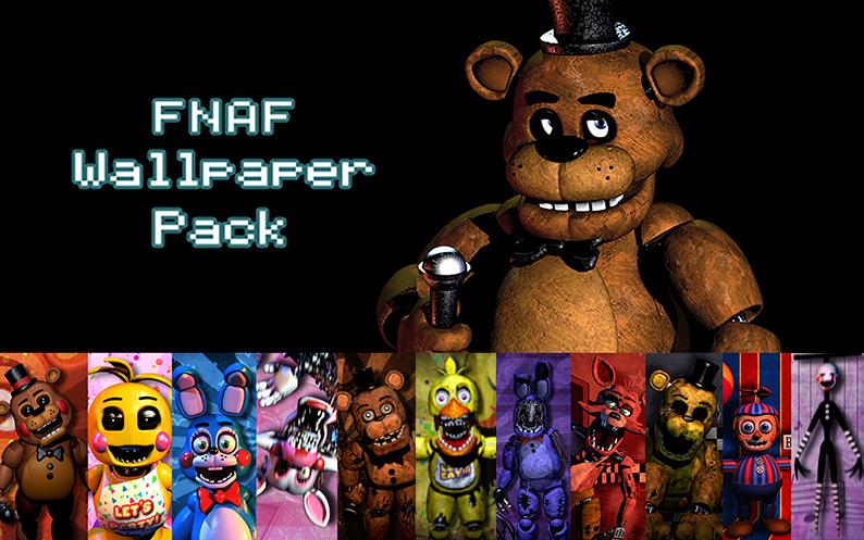 FNAF Wallpaper Pack by xquietlittleartistx 794x497