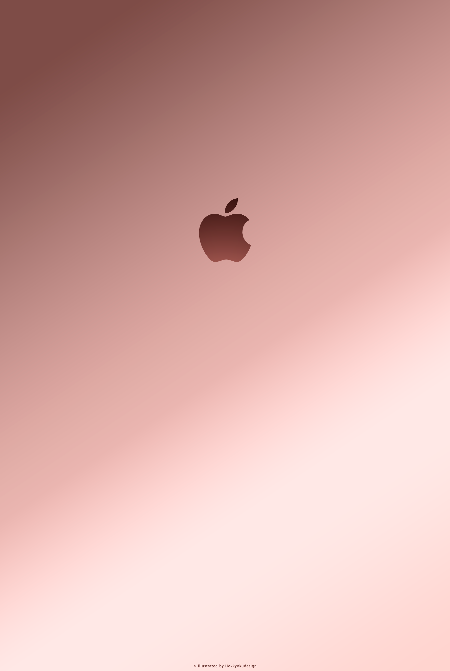 40 Rose Gold Apple Wallpaper On Wallpapersafari