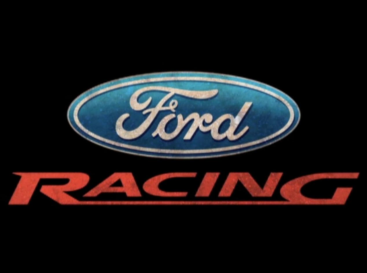 Ford Racing Logo Wallpaper - WallpaperSafari