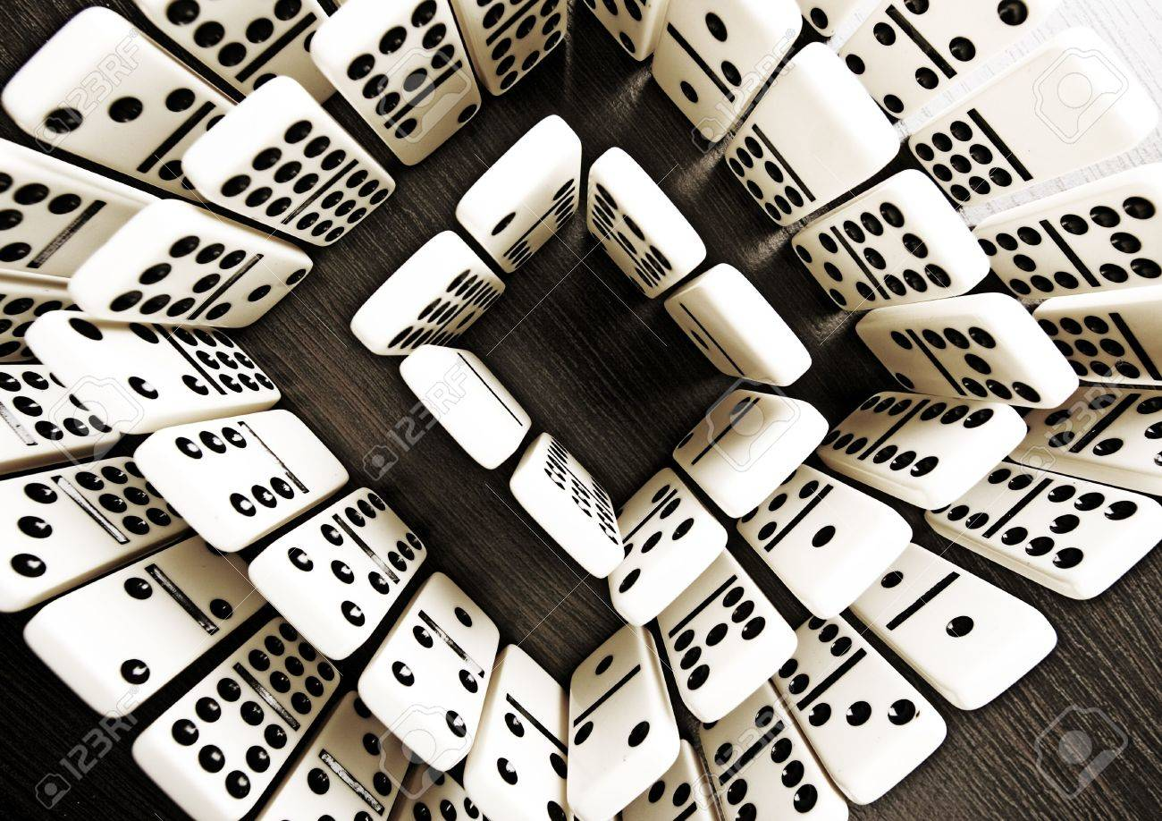 Domino Background Stock Photo Picture And Royalty Image 1300x918