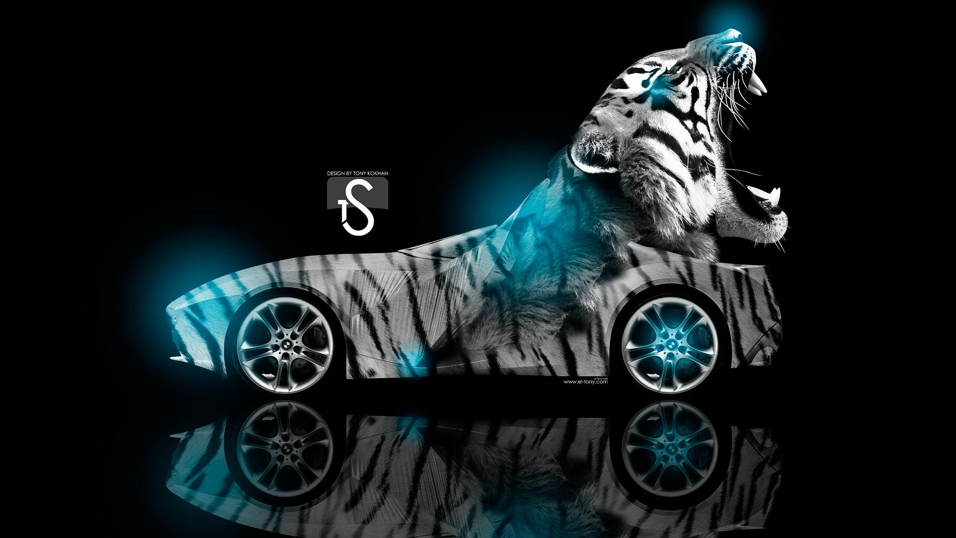 Neon Tiger Wallpaper - WallpaperSafari