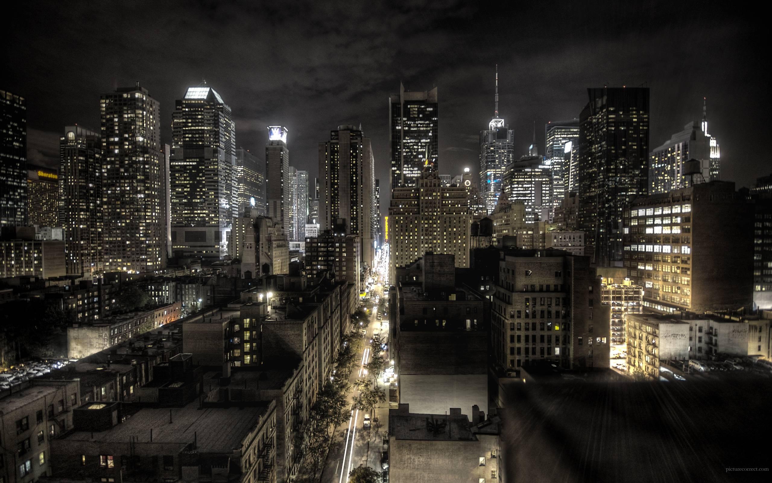 Cityscape Desktop Wallpapers 2560x1600