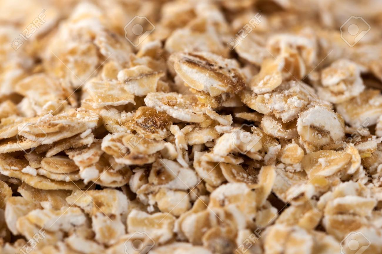Rolled Oats Background Organic Oatmeal Background Texture Macro 1300x866
