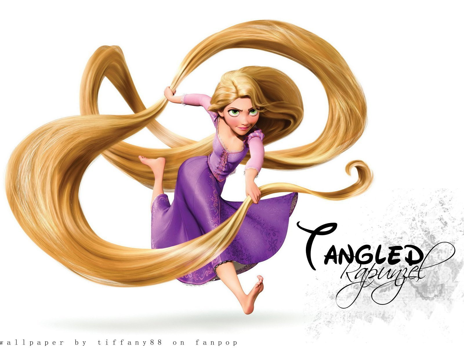 ilustracoes Wallpapers de Rapunzel Enrolados Tangled wallpapers 1600x1200