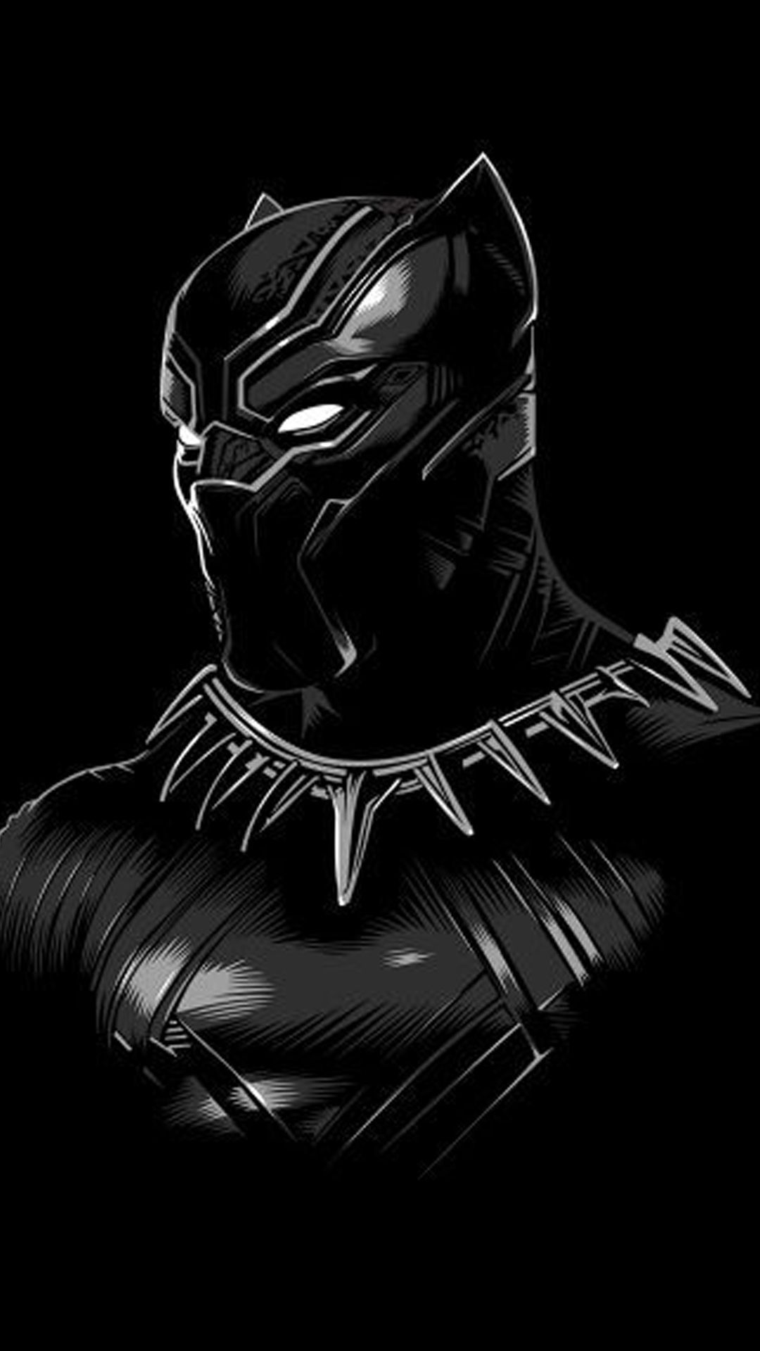 24 Black Panther Marvel Mobile Wallpapers On Wallpapersafari