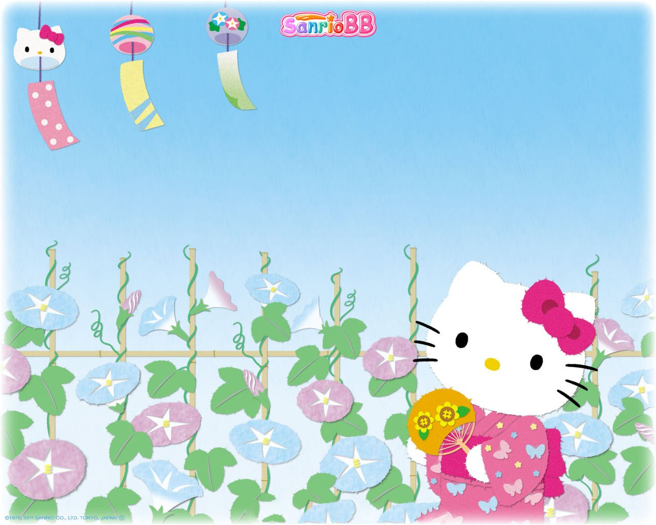 1280x1024px Hello Kitty Spring Wallpaper Wallpapersafari