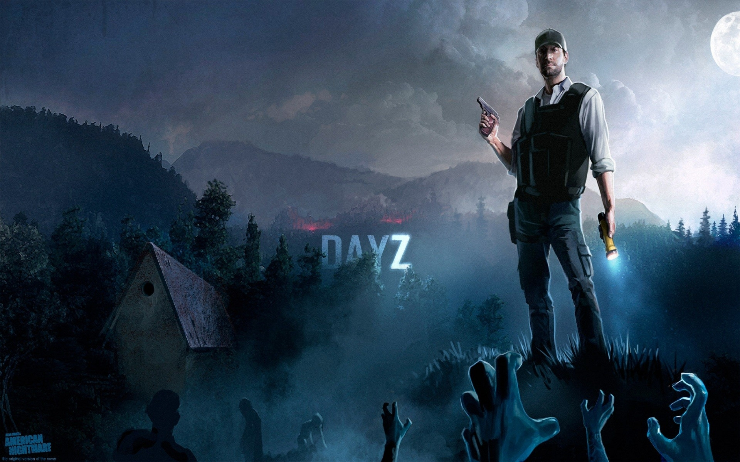 night men zombie apocalypse dayz 1920x1200 wallpaper Art HD Wallpaper 2560x1600