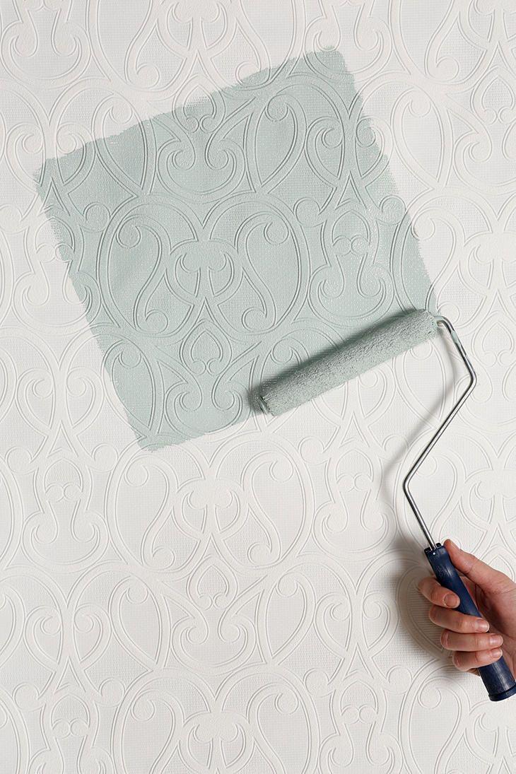 Graham Brown Jude Paintable Wallpaper Bachelorette Pad Ideas Pi 730x1095