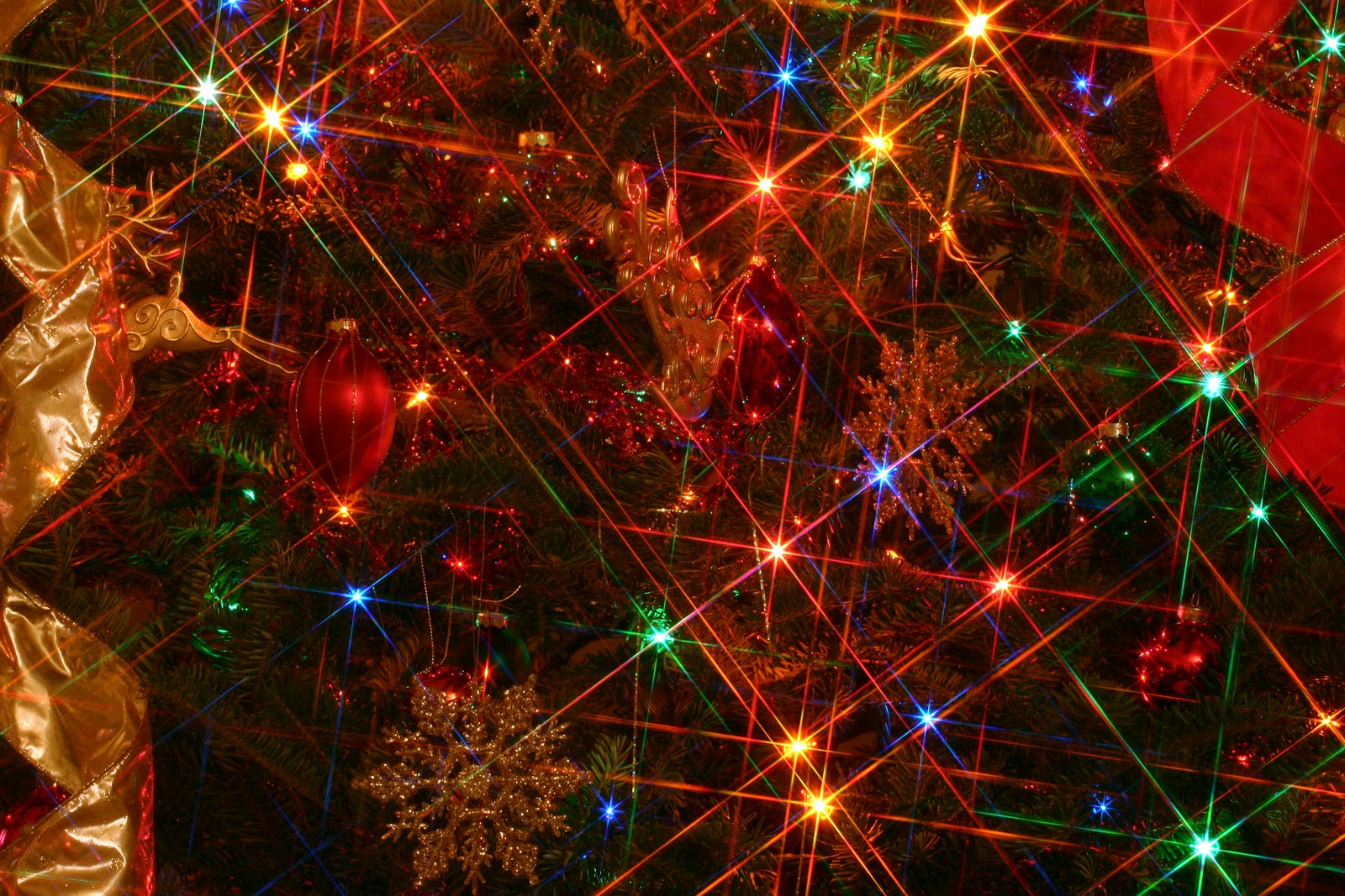 Free Download Christmas Lights Backgrounds Hd Wallpaper