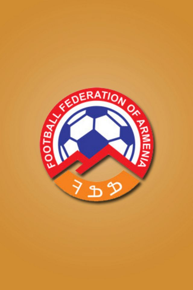Armenia Football Logo iPhone Wallpaper HD 640x960