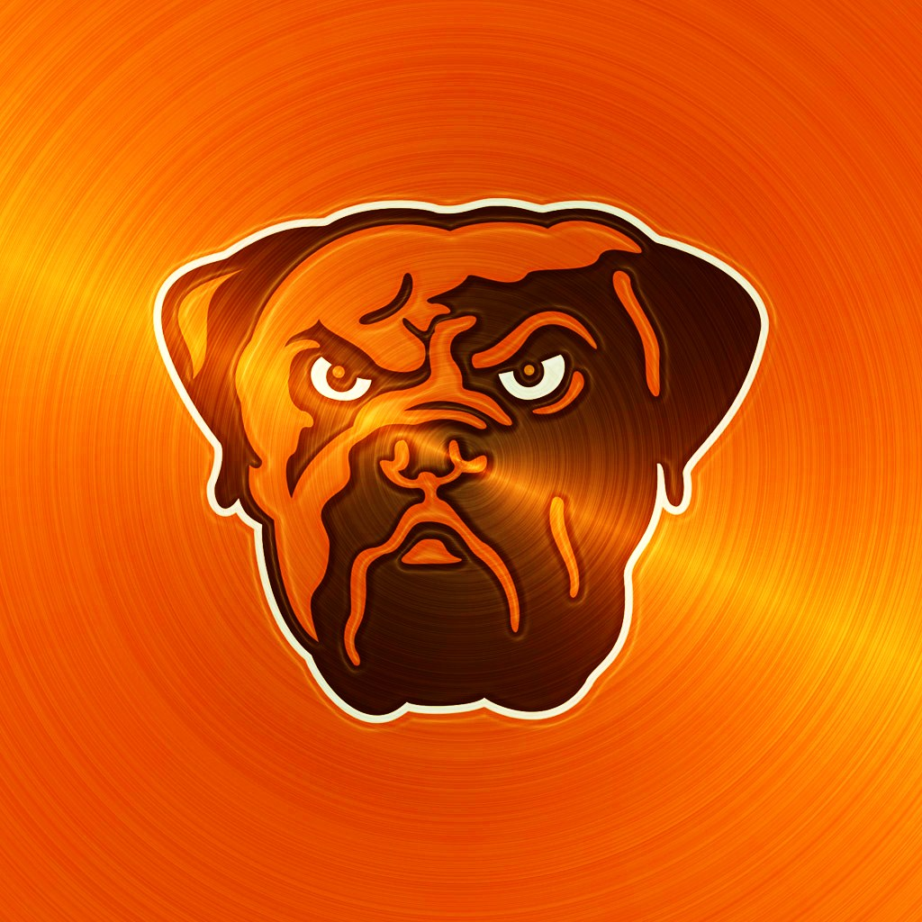 cleveland browns dog ipad 1024emsteeljpg phone wallpaper by 1024x1024