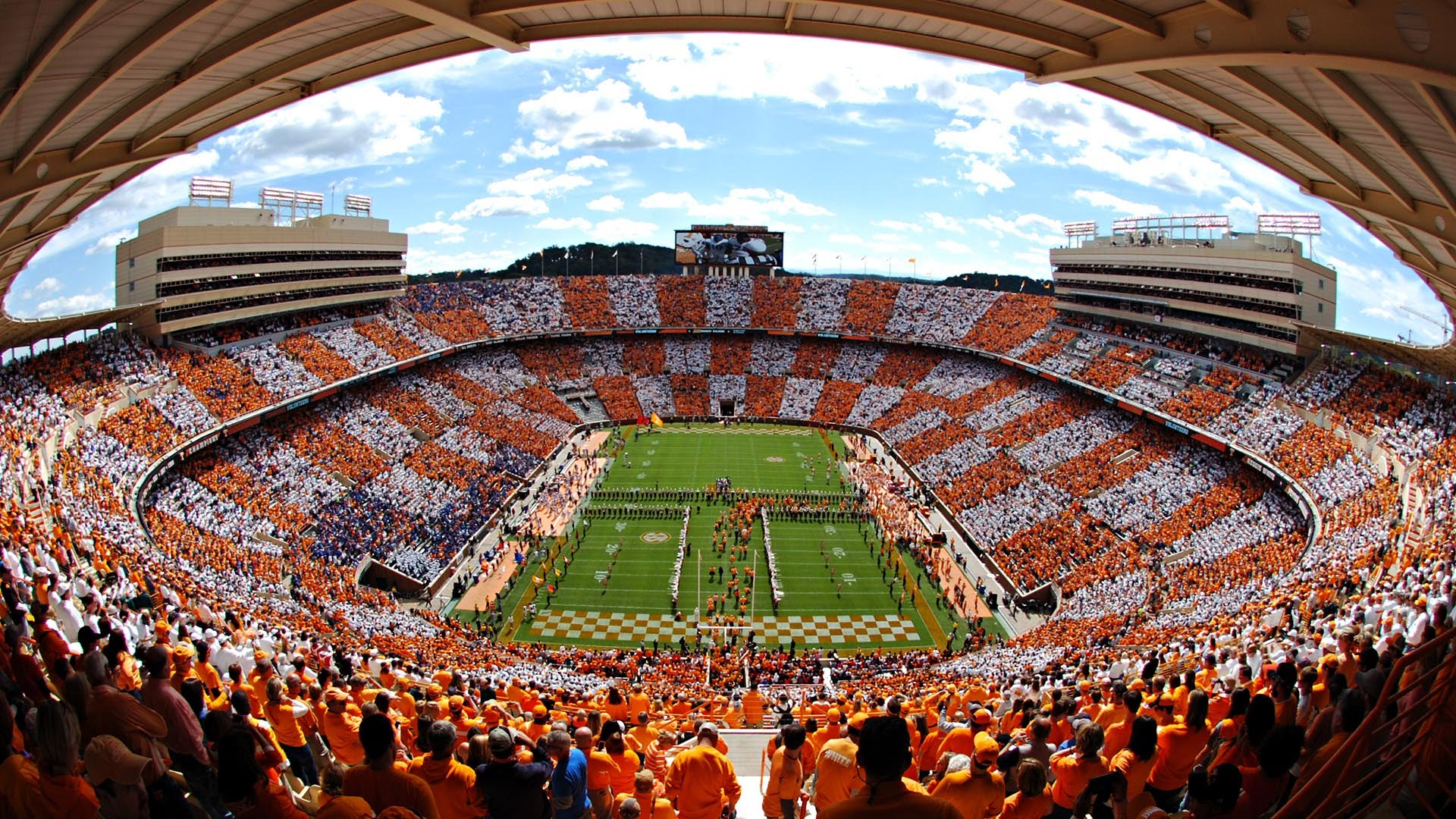 Checker Neyland timelapse Tennessee vs Florida Oct 4 1920x1080