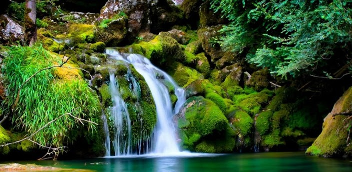HD Waterfall Live Wallpaper For Android Download Download 705x344