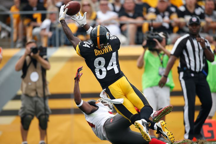 Jon Gruden Antonio Brown might be NFLs best wide receiver   Behind 730x487