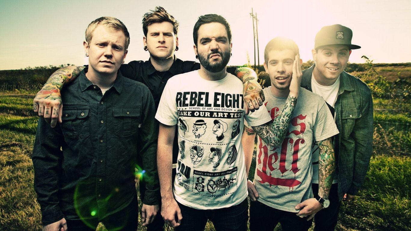 A Day To Remember Wallpapers 1366x768