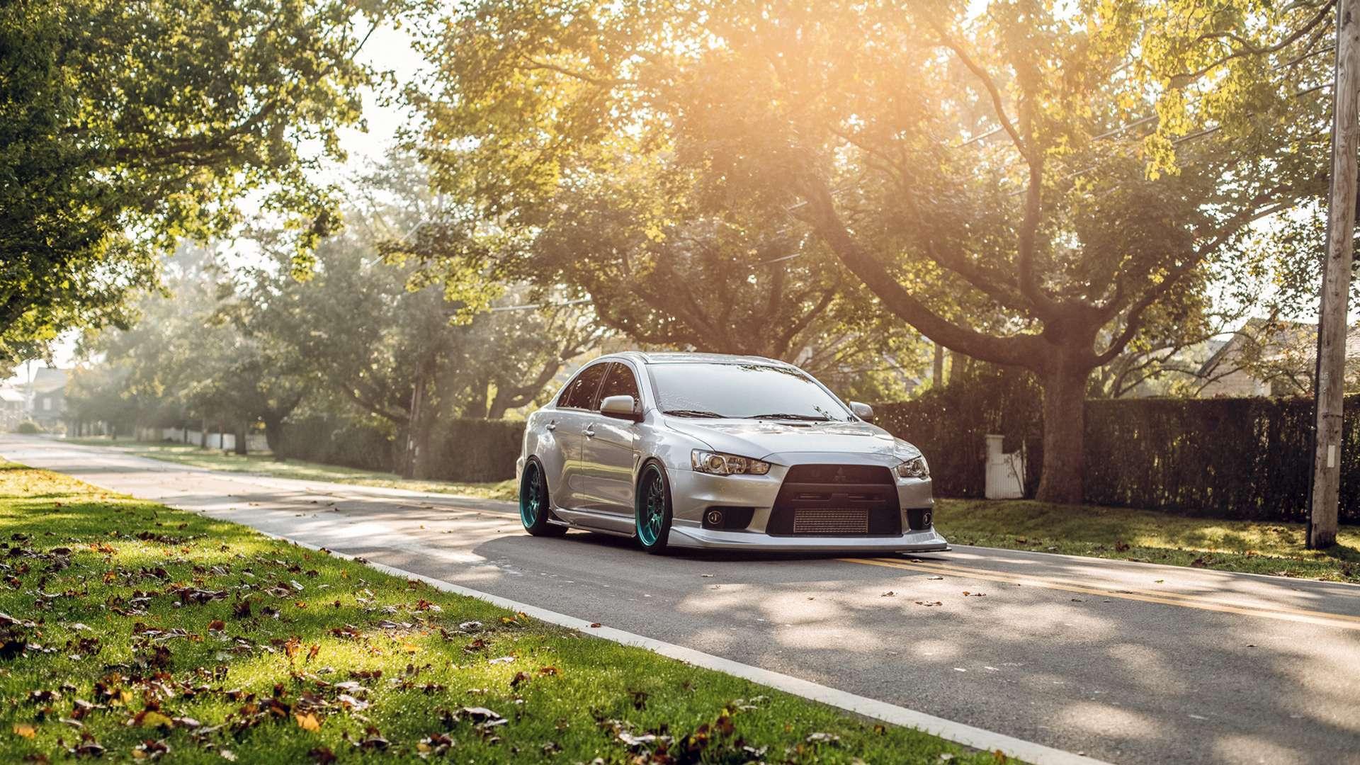 Free Download View Of Mitsubishi Lancer Evo Hd Hd Wallpapers