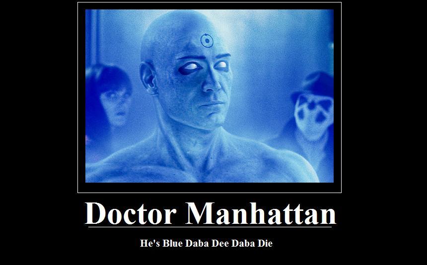 Dr Manhattan by BlakKatXIII 860x534