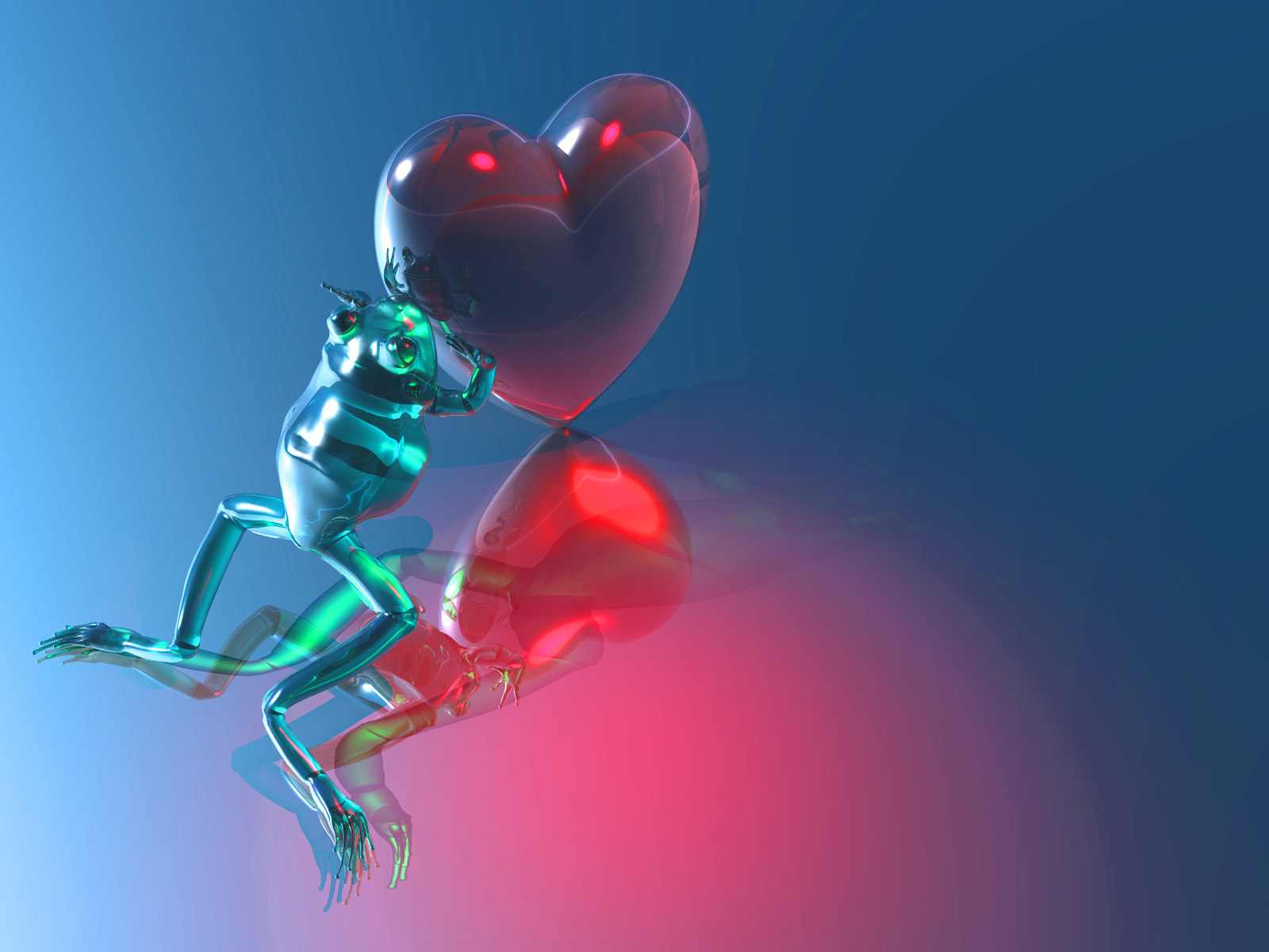 3D Heart Valentine Wallpapers FreeBest Wallpapers HD Backgrounds 1600x1200